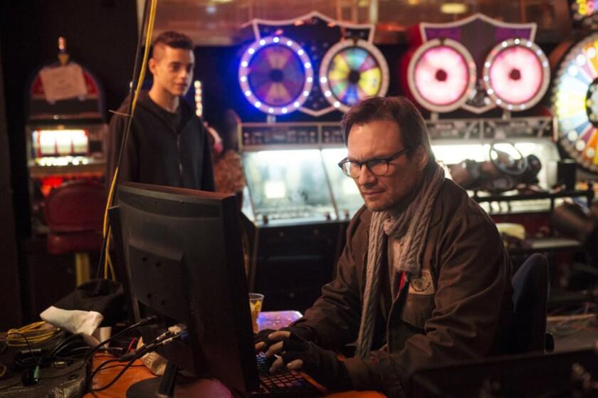 """Rami Malek, left, and Christian Slater star in """"Mr. Robot."""""""