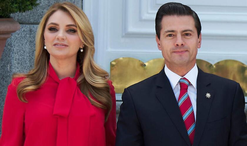 Angélica Rivera y Enrique Peña Nieto, en foto de archivo.