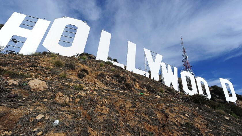 Letters to the Editor: The Hollywood sign isn't maintained for free. It deserves to be trademarked