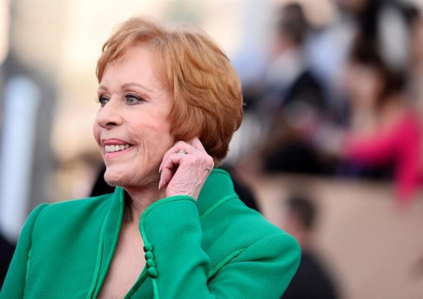US actress Carol Burnett, who will receive the Lifetime Achievement Award, arrives for the 22nd Annual Screen Actors Guild Awards ceremony at the Shrine Auditorium in Los Angeles, California, USA. EFE/EPA/File