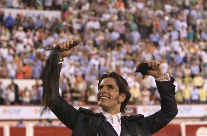 El rejoneador mexicano Emiliano Gamero . EFE/Archivo