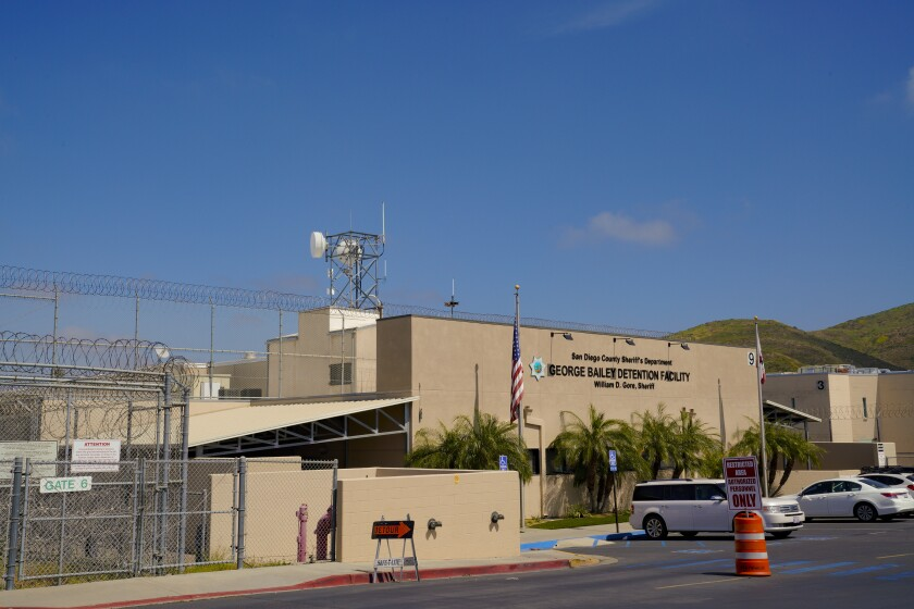 George Bailey Detention Center in Otay Mesa, San Diego.