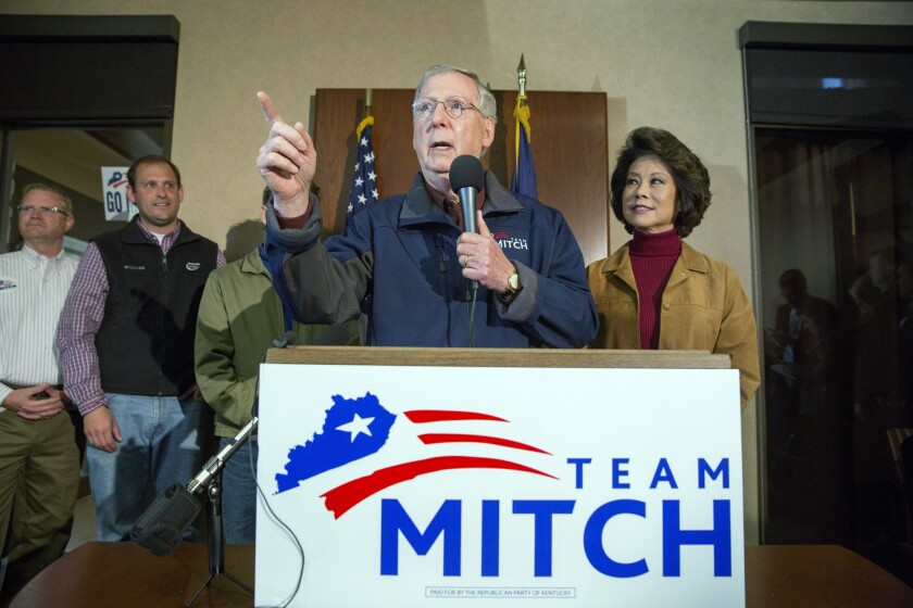 Who paid for Mitch McConnell's campaign ads? Good luck finding out.