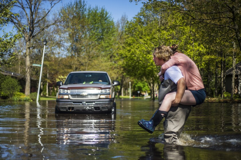 Midwest Flooding Michigan