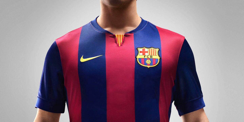 El jersey del Barcelona (Nike), el mejor club del mundo de los años recientes. está en la 'lista negra'