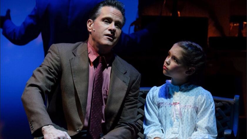 David Engel and Claire Scheper star in 'White Christmas.'