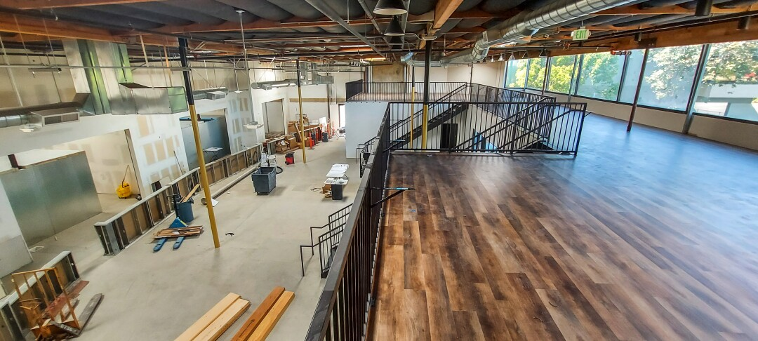 The first floor of the Co-Lab tasting room is 2,500 square feet.