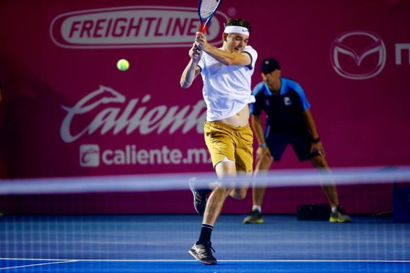Fritz da un campanazo en Los Cabos al vencer al campeón Fabio Fognini