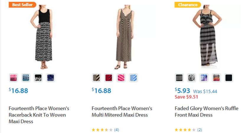 Wal-Mart best-sellers