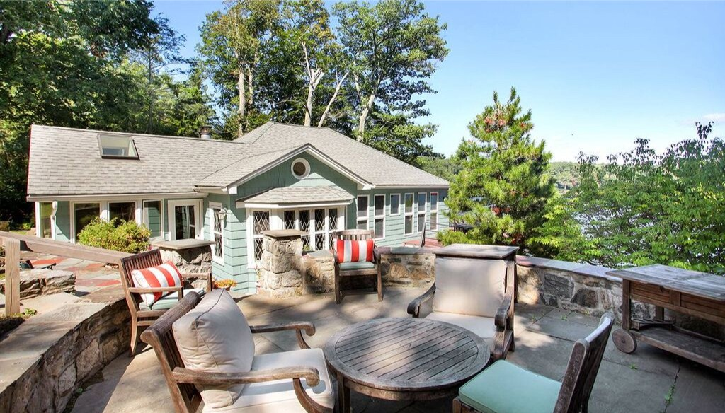The half-acre property boasts a pair of cottages that combine for more than 2,000 square feet.