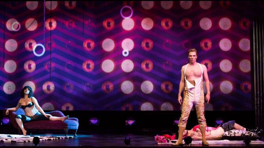 """A scene from San Diego Opera's """"The Tragedy of Carmen"""" at the Balboa Theatre."""