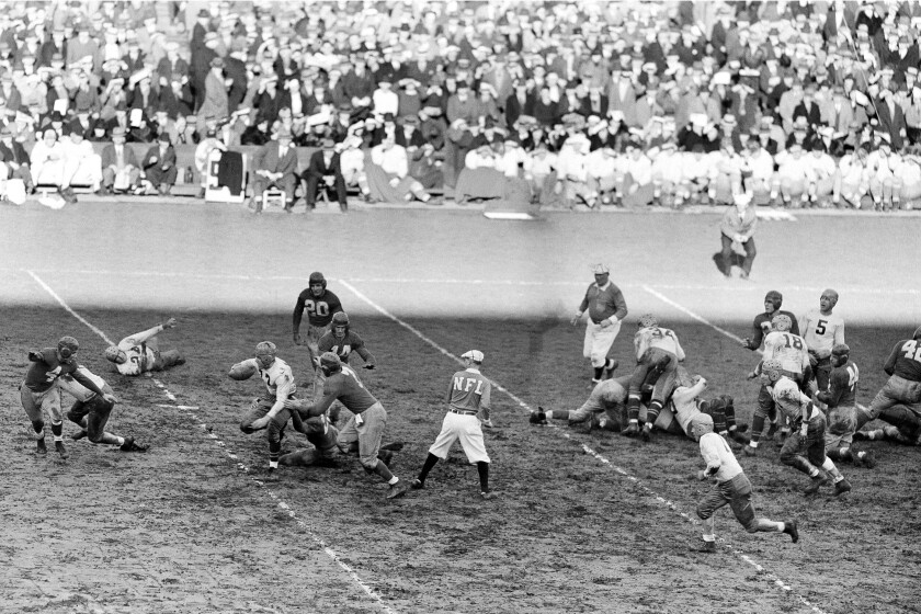 NFL At 100 The 1930s