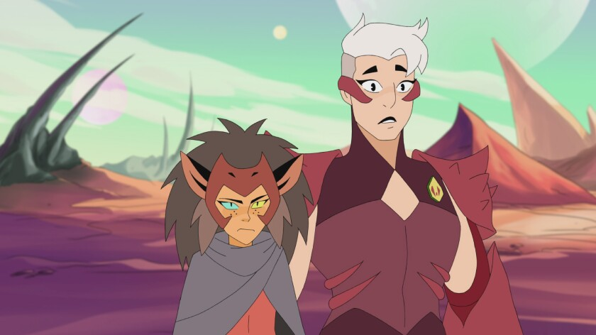"Catra and Scorpia from ""She-Ra"""