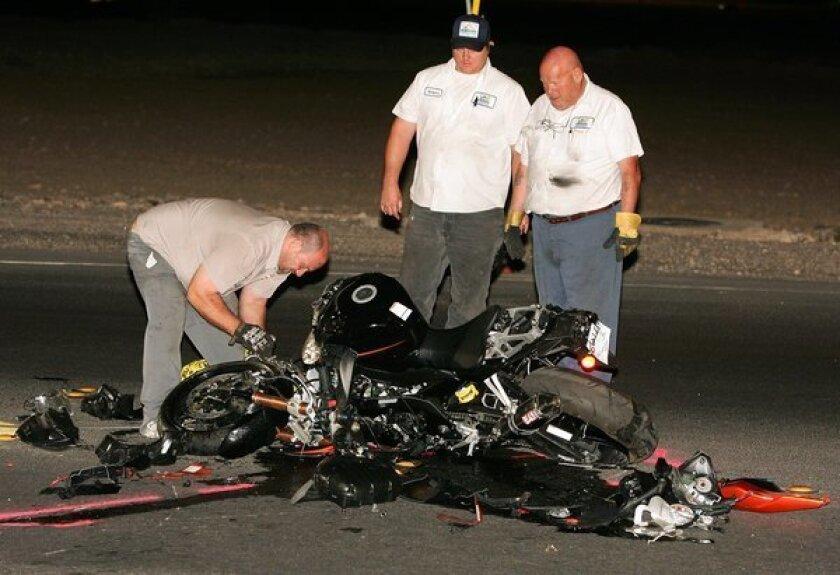 Motorcycle deaths spike in 2012