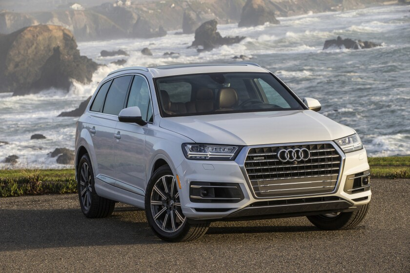 Behind the Wheel Audi Q7 or Lincoln Aviator