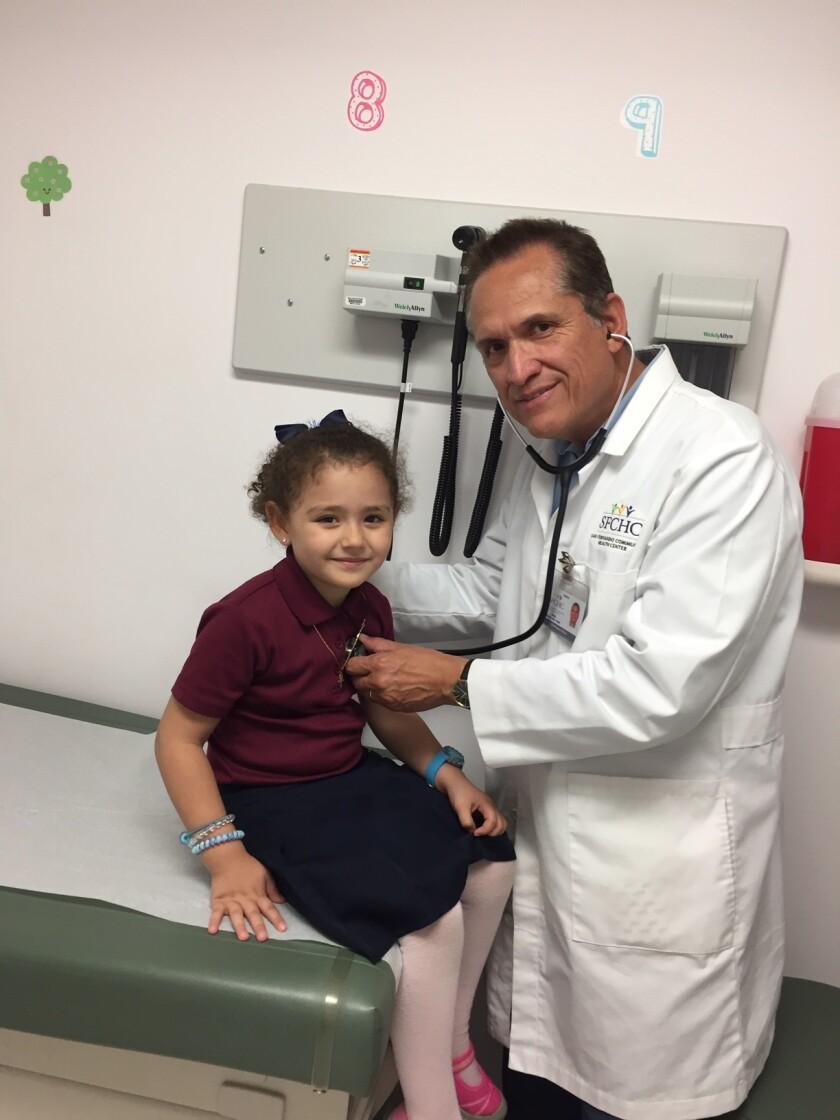 David Solarte, medico de SFCHC