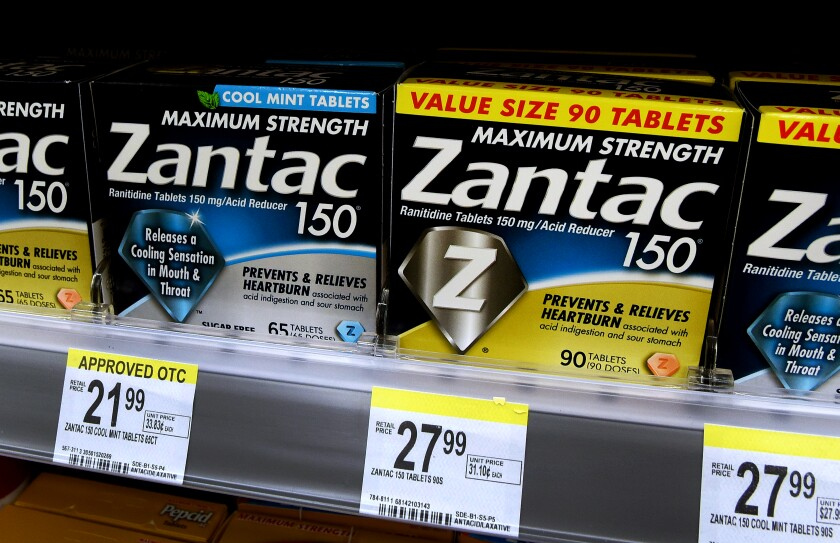 Generic Zantac Is Recalled From Major U S Pharmacies After