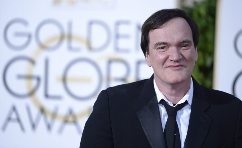 """Director Quentin Tarantino used the term """"ghetto"""" at the Golden Globes."""