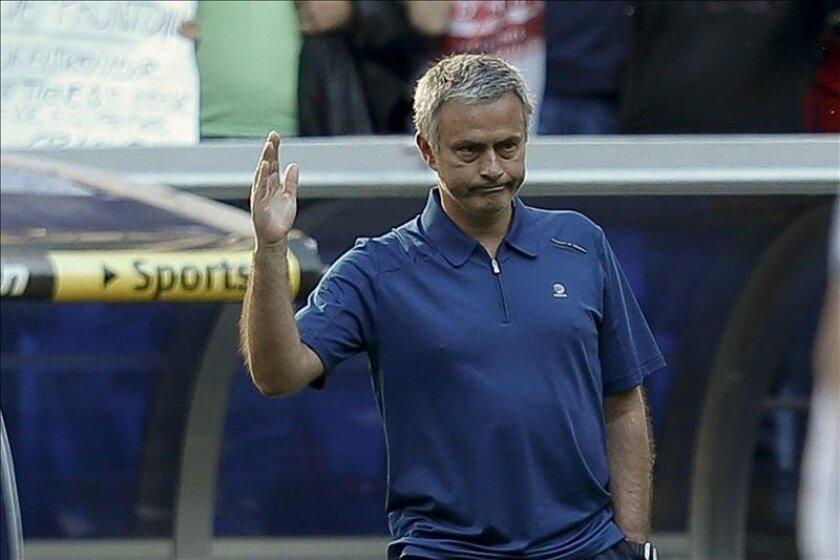 El exentrenador portugués del Real Madrid, José Mourinho. EFE