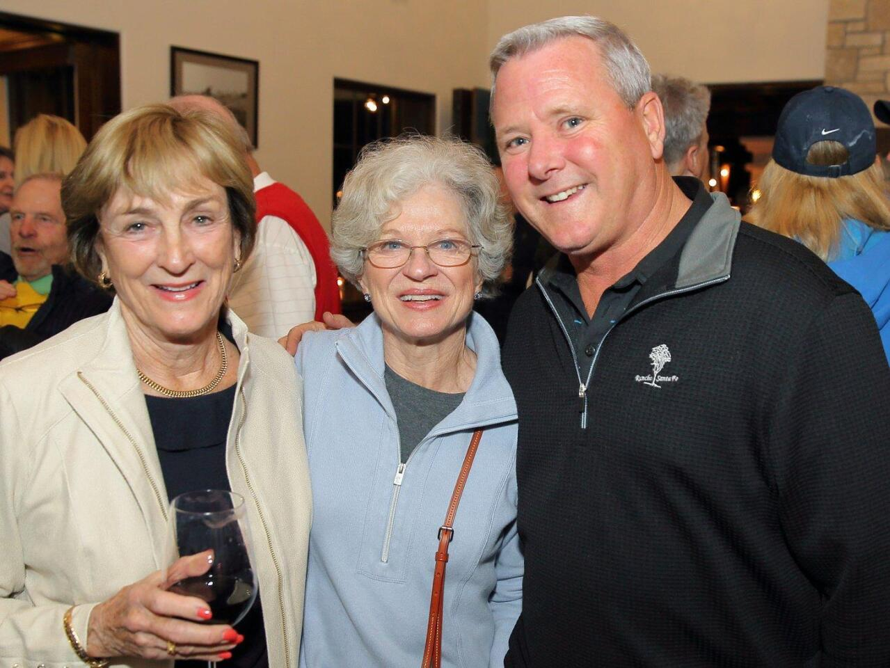 Patty Queen, Gail Kendall, Tim Barrier