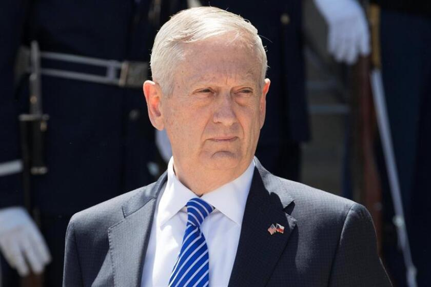 El secretario de Defensa estadounidense James Mattis. EFE/Archivo