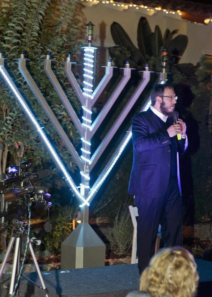 Rabbi Levi Raskin of Chabad Jewish Center of RSF