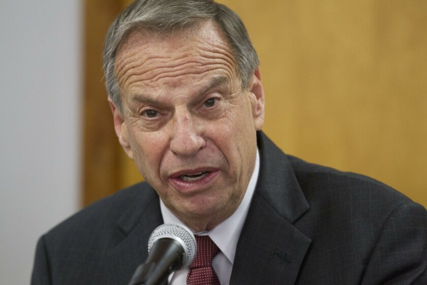 At a morning press conference in his office, embattled San Diego Mayor Bob Filner announced on July 26, 2013, that he was placing himself in a two-week program to start him on a road to correct his inappropriate behavior towards women.