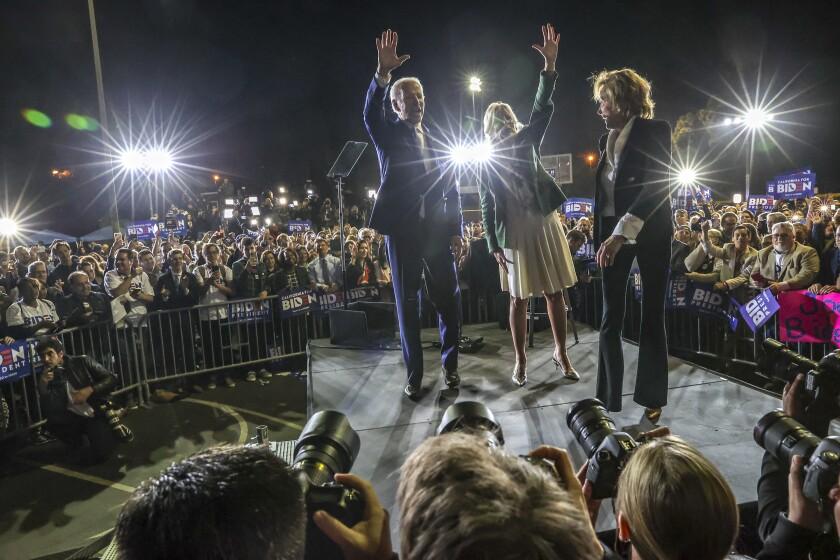 Joe Biden in Baldwin Hills