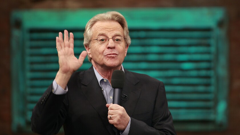 """Talk-show host Jerry Springer is featured in a new episode of """"Cultureshock"""" on A&E."""
