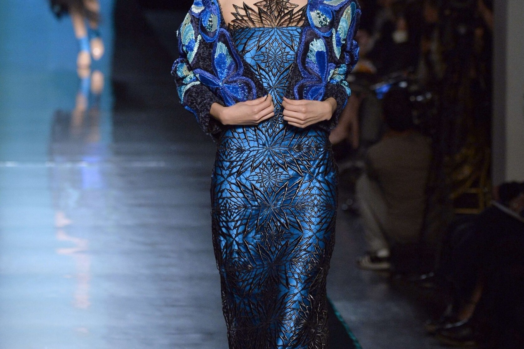 Paris Haute Couture Butterflies And Dita Von Teese At Gaultier Los Angeles Times