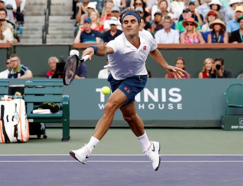 Roger Federer, tenista suizo. EFE