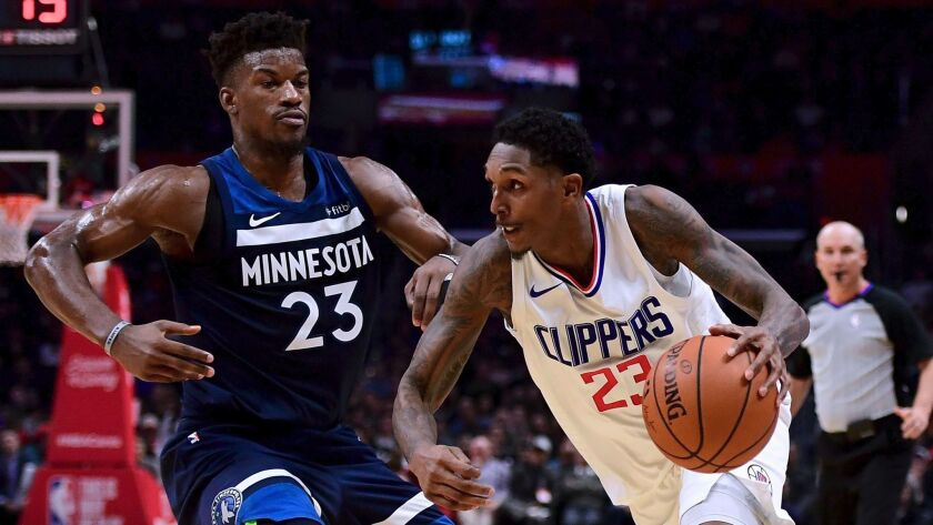 Could Minnesota All-Star Jimmy Butler be joining Lou Williams and the Clippers in the near or not-too-distant future? The club hopes it's a destination for more stars.