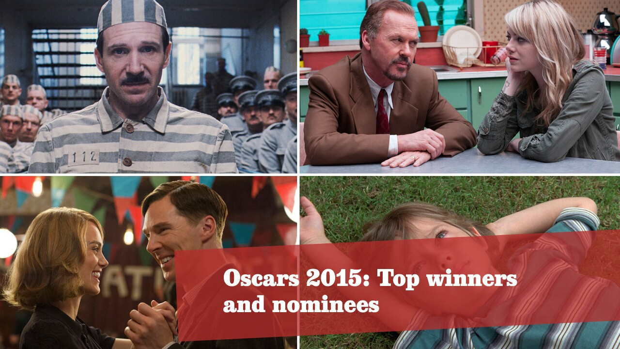 Click through to see the top nominees of the 87th Academy Awards. More Oscars: Full coverage | Complete list | The show | Red carpet | Quotes | Backstage | Best & worst | Winners' room | Video Q&As