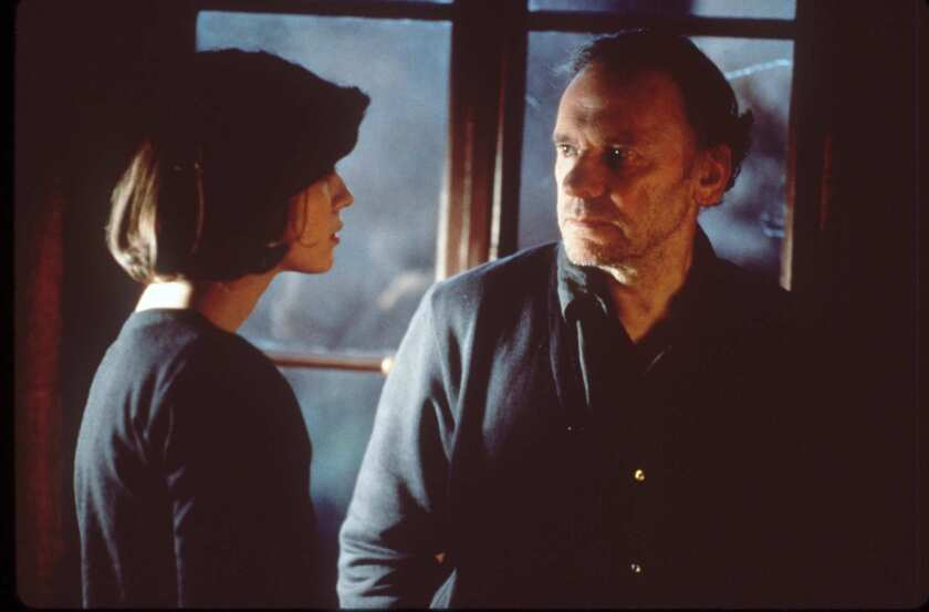 Irène Jacob, Jean-Louis Trintignant, 'Red'
