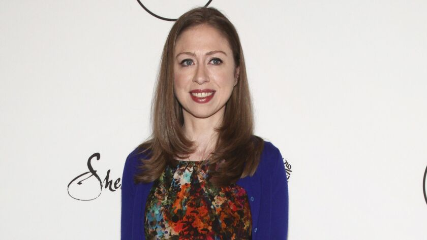 Chelsea Clinton attends Variety's Power of Women: New York Presented by Lifetime in New York on April 21, 2017.