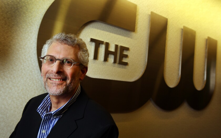 CW President Mark Pedowitz, shown in 2014, has extended his tenure with a new multiyear contract.