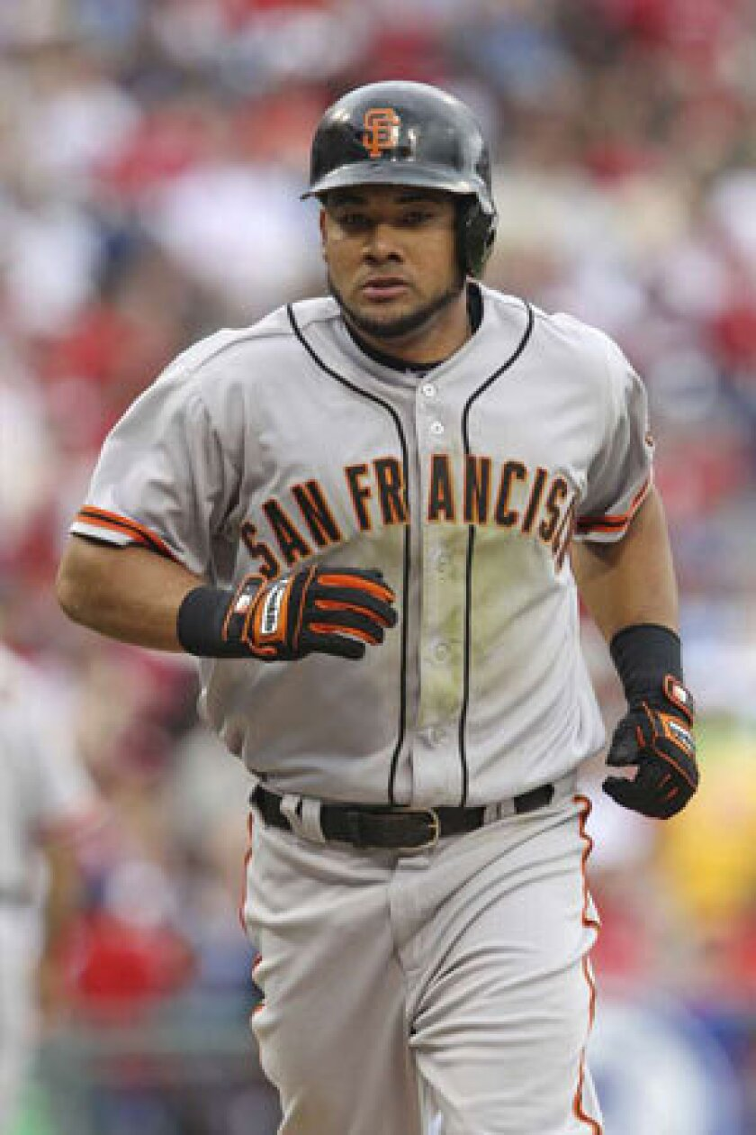 Melky Cabrera was suspended for 50 games last season for testing positive for testosterone.