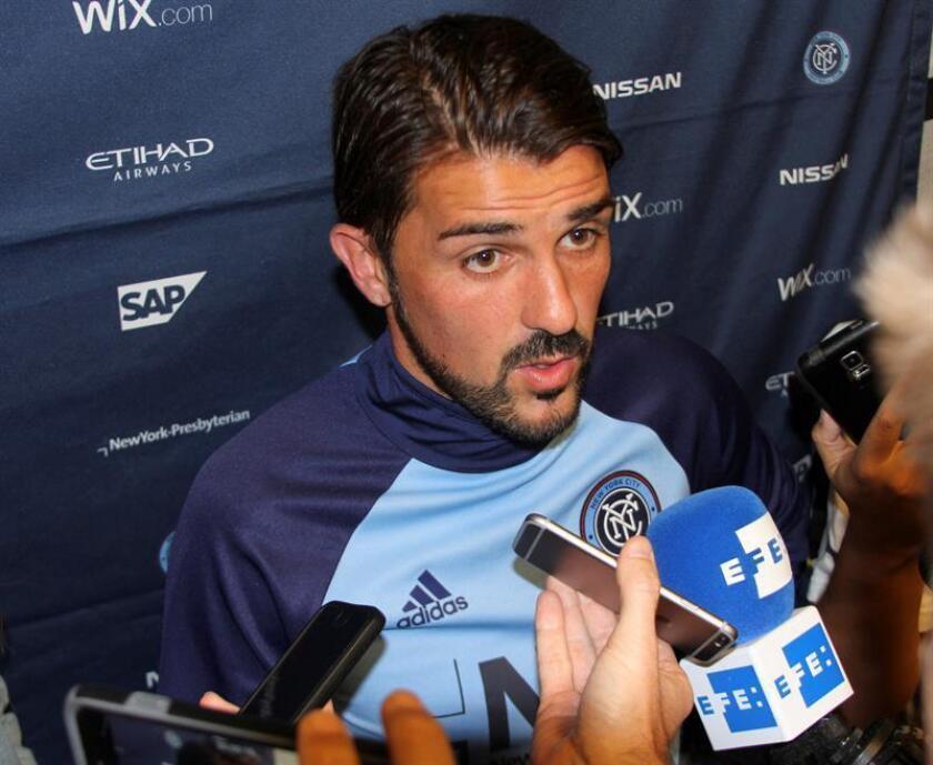 En la imagen, el jugador español David Villa. EFE/Archivo