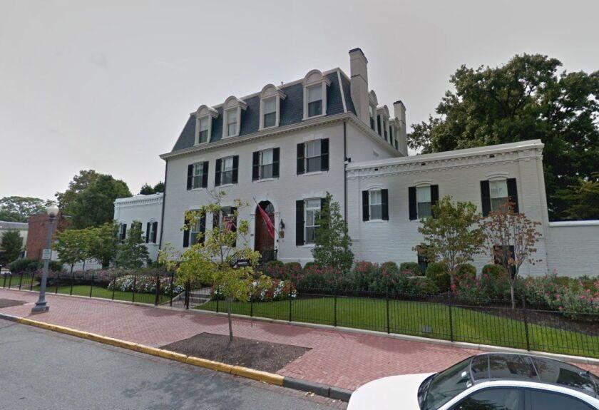 Marine commandant's house in Washington, D.C.