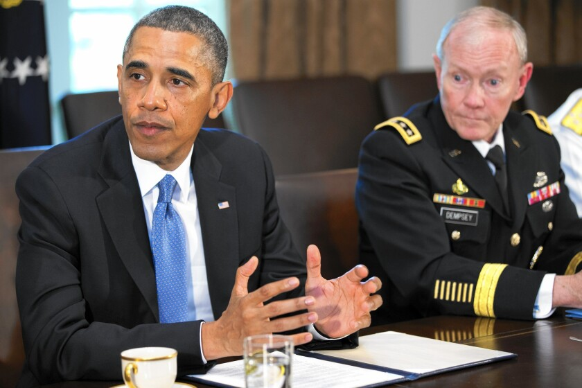 President Obama and Army Gen. Martin E. Dempsey have both commented on the importance of cybersecurity in the commercial and military sectors.