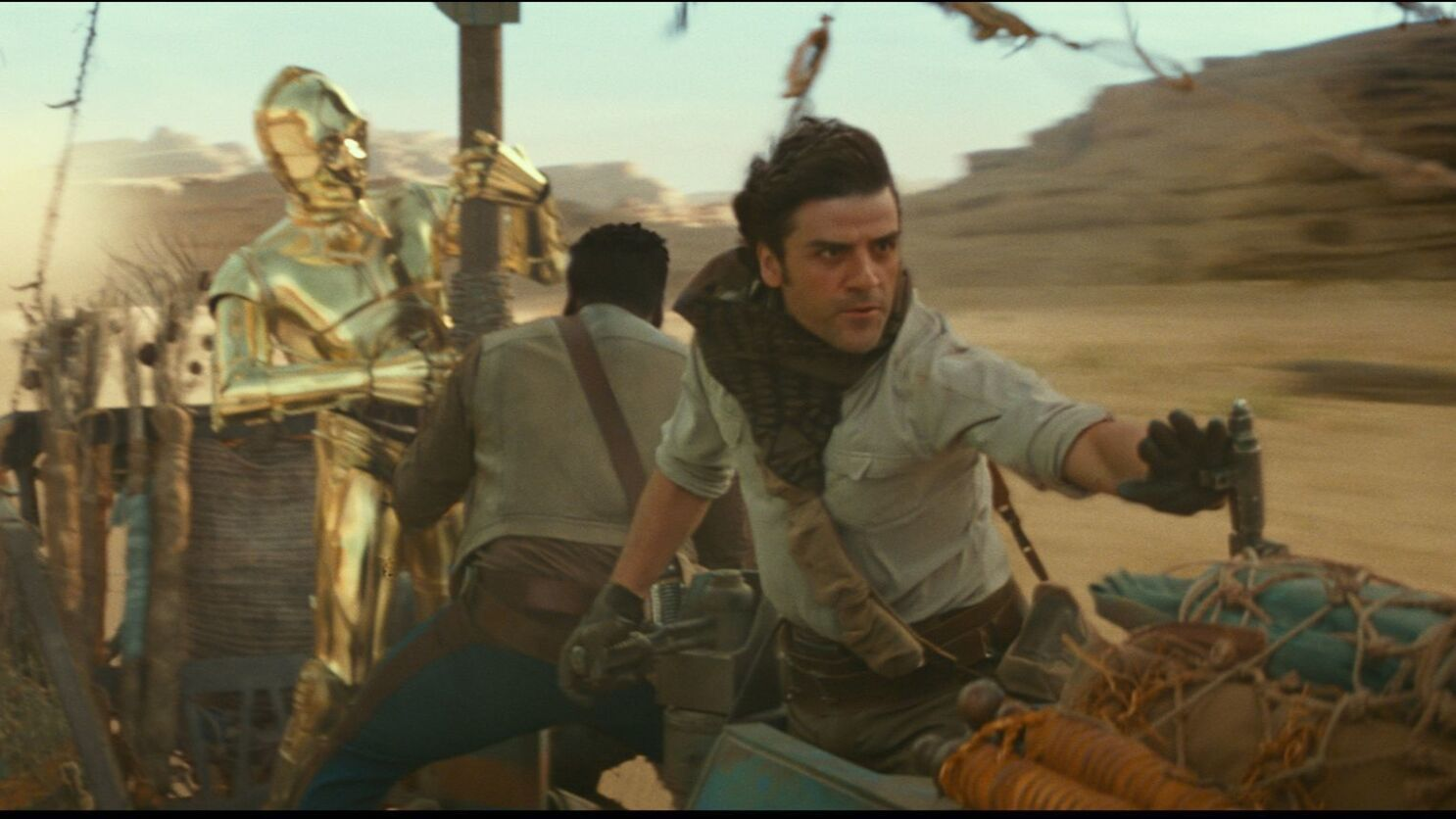 What We Learned From The Star Wars The Rise Of Skywalker Trailer Los Angeles Times