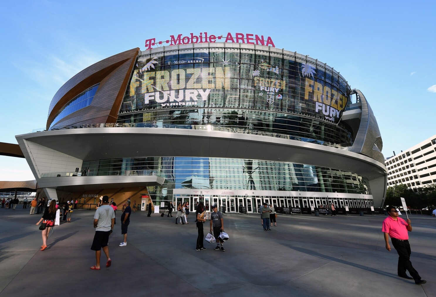 T Mobile Arena And Madison Square Garden Will Battle To Host