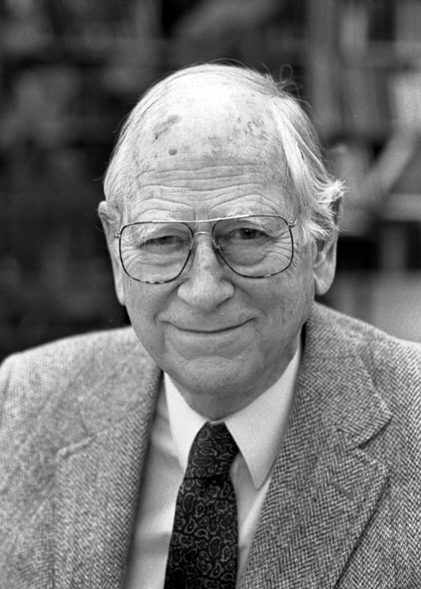 """Robert A. Dahl, 98, an esteemed and influential political scientist who in such books as """"Who Governs?"""" championed democracy in theory and critiqued it in practice, has died."""