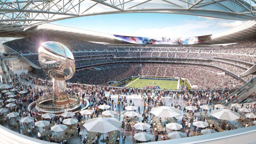 Proposed Carson NFL stadium