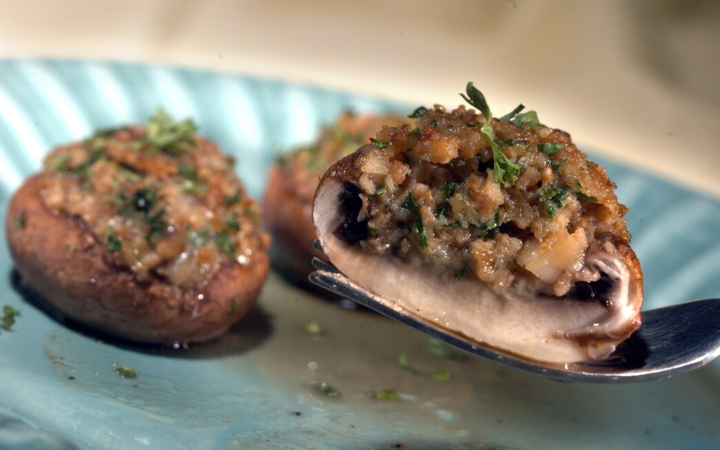 Gene Autry stuffed mushrooms