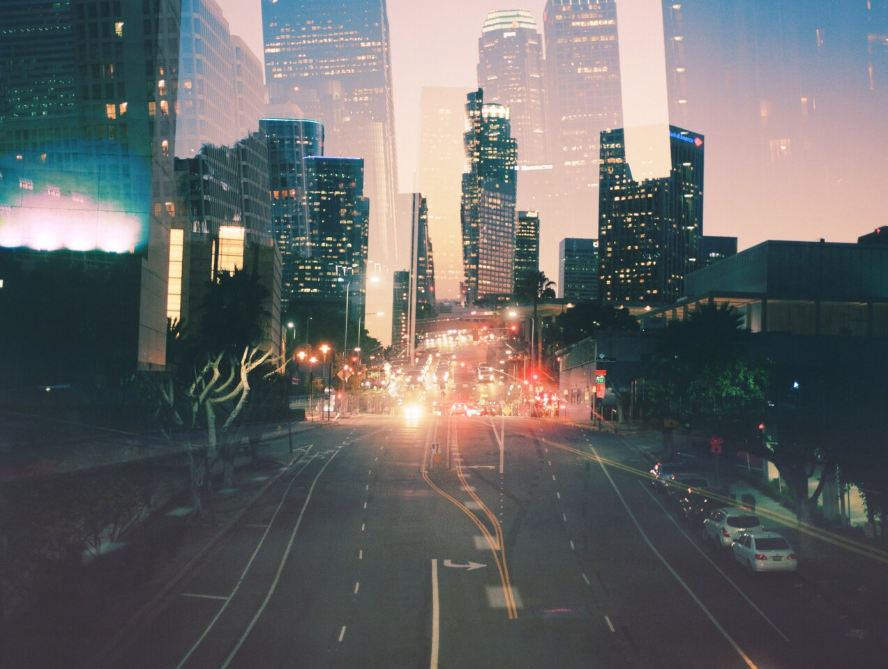 """A """"city series"""" photo reflects Samaniego's method of capturing """"a city that feels like it's alive."""""""