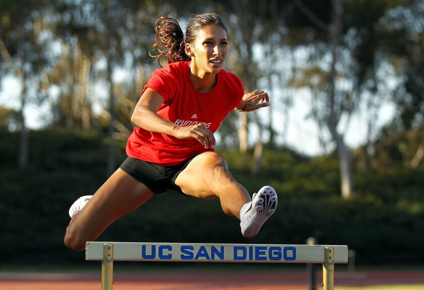 Olympic Hurdler Christine Merrill