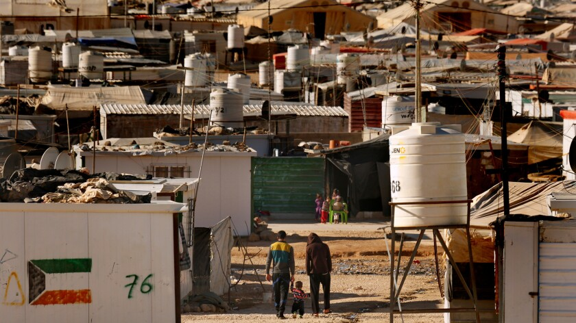 With more than 85,000 Syrian residents, Jordan's Zaatari refugee camp is one of the largest in the world.