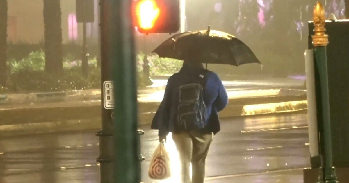 Rain creeps into Southern California with surprise late-July showers: 'This is unusual'