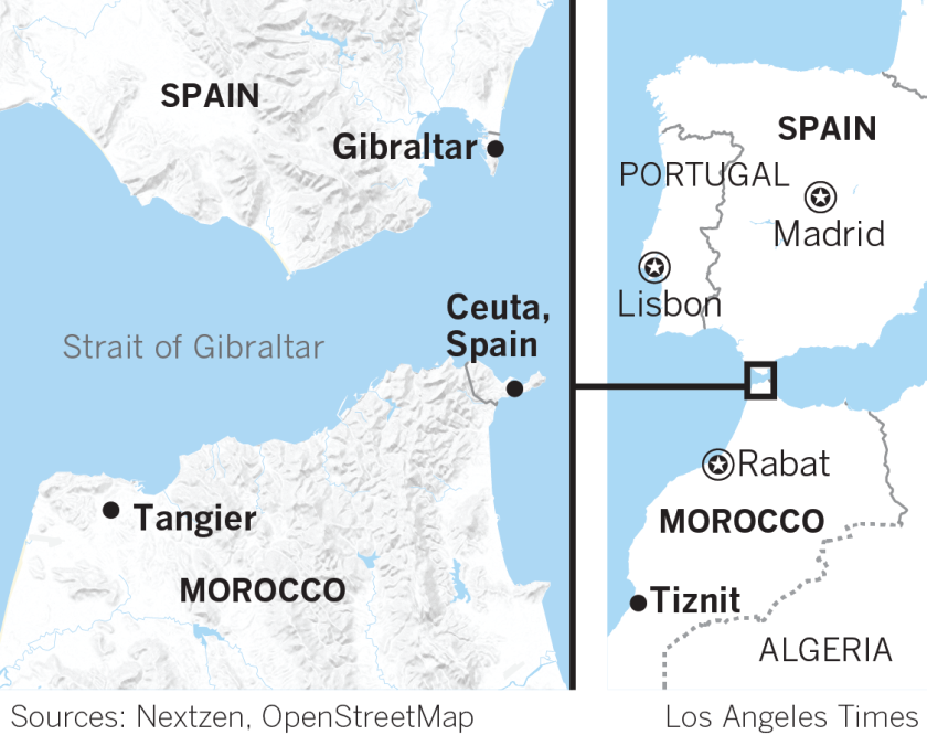 Map Of Spain Gibraltar And Morocco.Global Development Spain Was Seen As Welcoming Refugees But In
